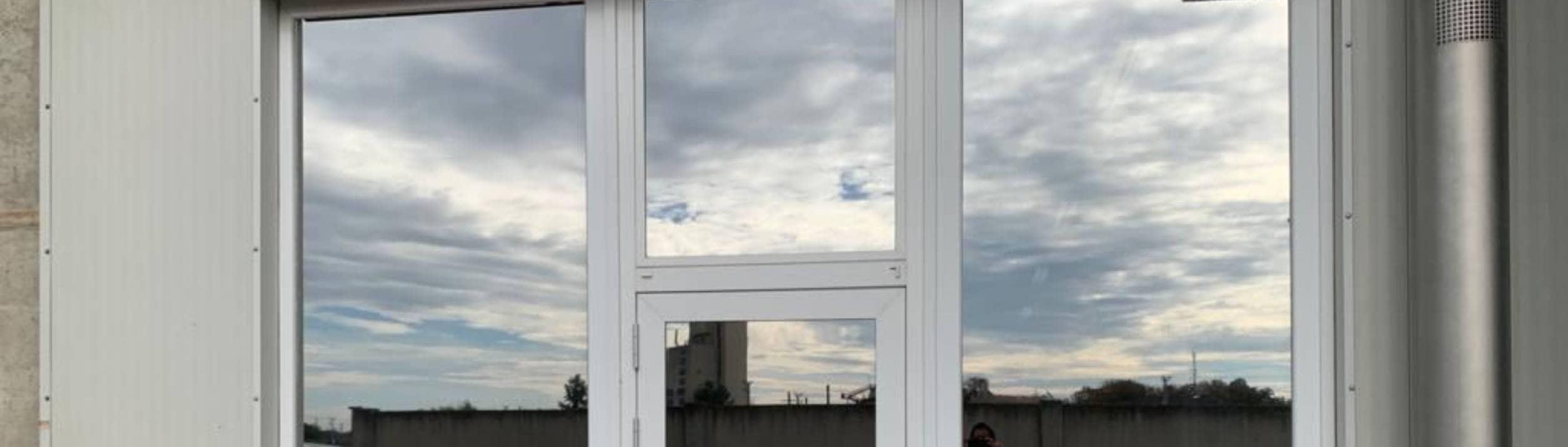 Gebäude Sonnenschutz & Sicherheitsfolien